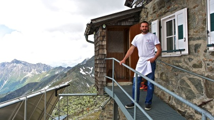 A personal welcome on the Landshuter Europa hut is garanteed.