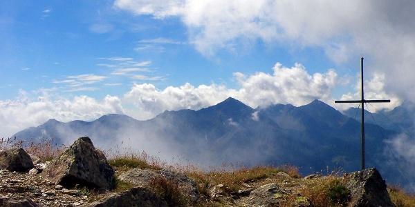 Der Peilstein im Ultental ist ein recht leicht zugänglicher Gipfel