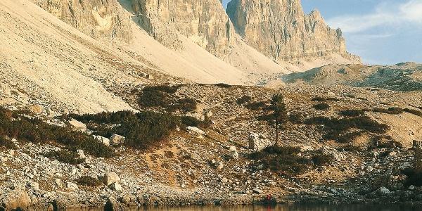 Inmitten herrlicher Dolomiten-Landschaft