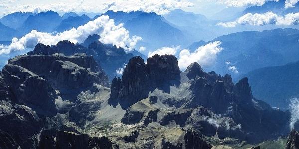 Die Hochbrunnerschneid in den Sextner Dolomiten