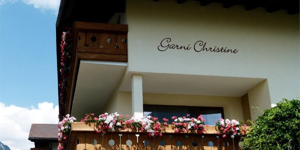 The Garni Christine is quietly situated at the edge of the forest of Resia.