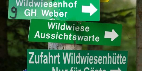Markierung Kultweg