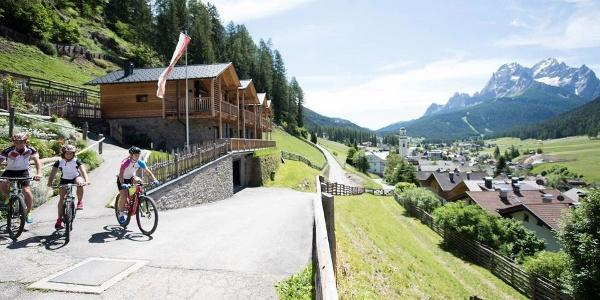 Fahrräder bekommt ihr direkt am Hof, dann kann die Radtour beginnen!