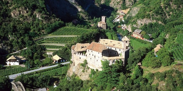 Roncolo - Runkelstein Castle at the entrance of Sarntal - Val Sarentino