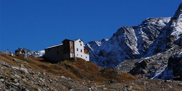 Lenjöchlhütte refuge