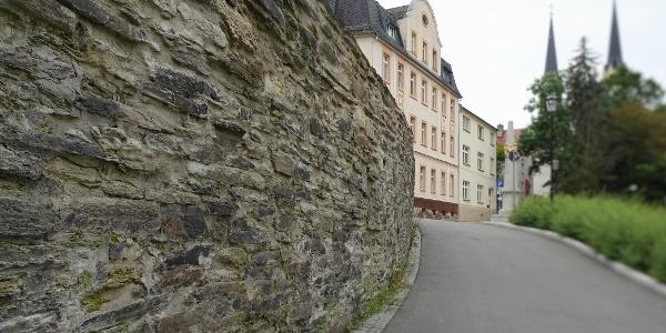 Stadtmauer Oelsnitz