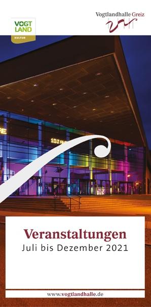 Cover Spielplan Vogtlandhalle Greiz