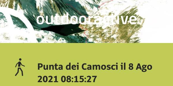 Escursione in Wallis: Punta dei Camosci il 8 Ago 2021 08:15:27