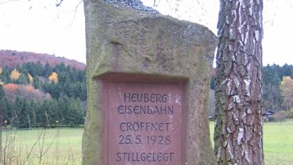 Heubergbahn Gedenkstein
