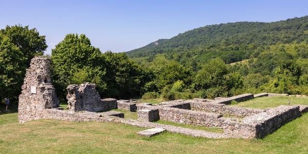 A pilisszentléleki pálos kolostorrom