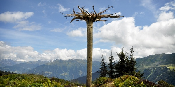 Skulpturen am Weg - AlpkulTour, www.alpkulTour.com