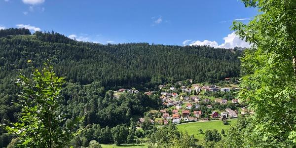 Ausblick über Bad Wildbad