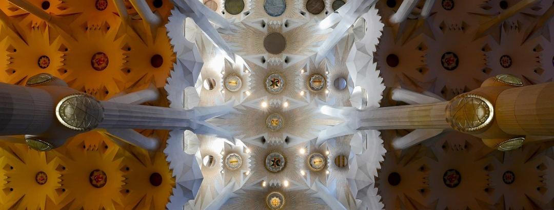 Techo de la Sagrada Família