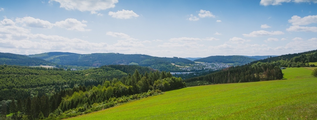 Ausblick nach Bad Berleburg