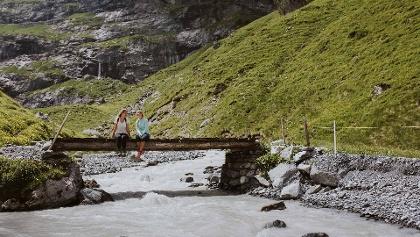 Bergwasser Kiental Gamchi