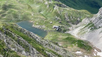 Die Obstansersee-Hütte