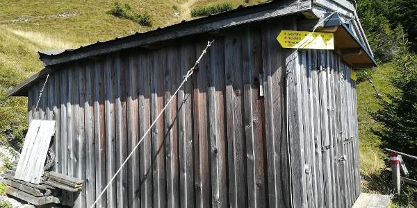 Reißkofelbiwak - Westansicht