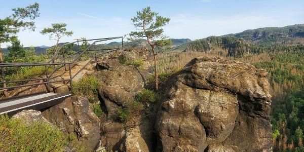 Sandsteinkanzel des Großsteins