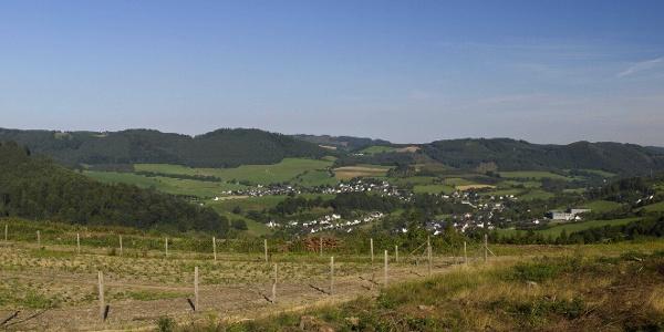 Ponoramafoto vom Gesenberg