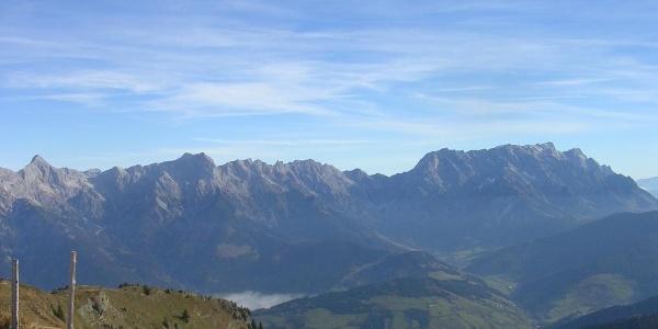 Panorama Hochkönig und Steinernes Meer