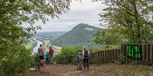 Aussicht von der Porta Kanzel