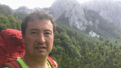 Middle aged man in Prenj