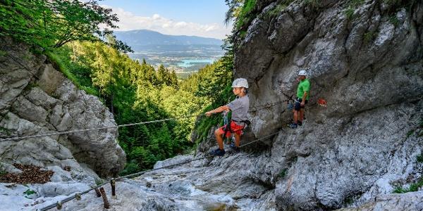 Rotschitza Klamm Klettersteig
