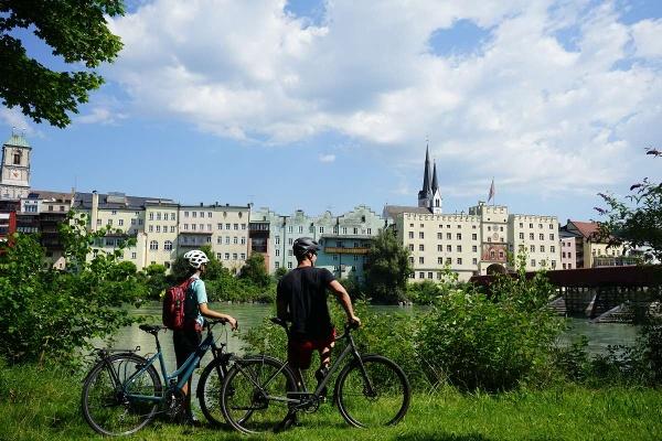 Blick zur Wasserburger Altstadt
