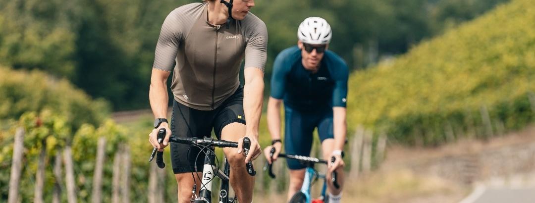 Mit dem Rennrad durch die Weinregion