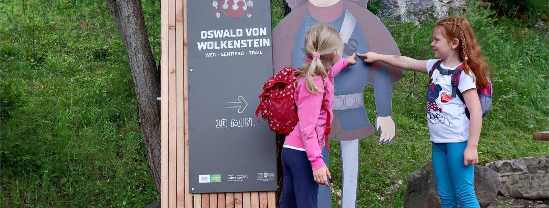 Sentiero Oswald von Wolkenstein