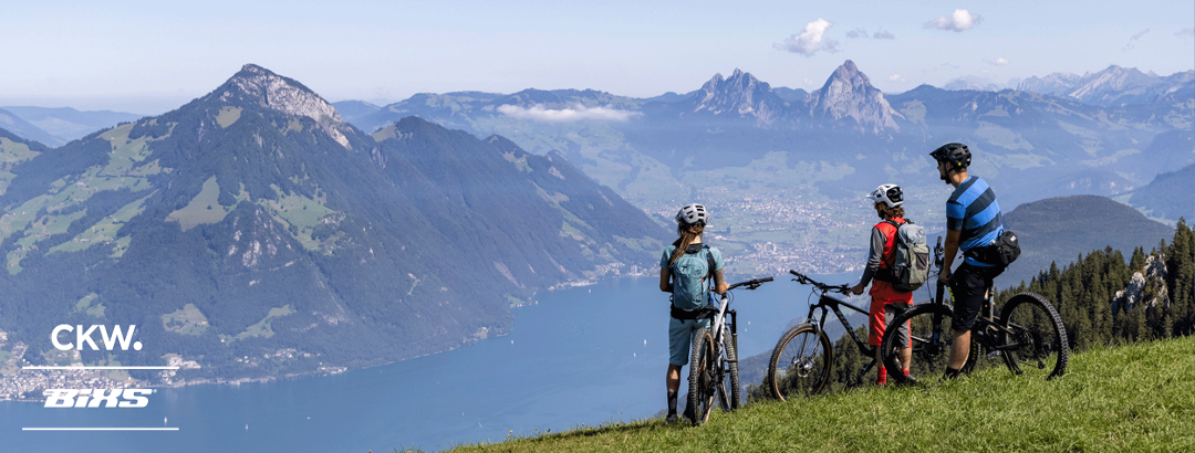Biken in der Region Klewenalp-Vierwaldstättersee