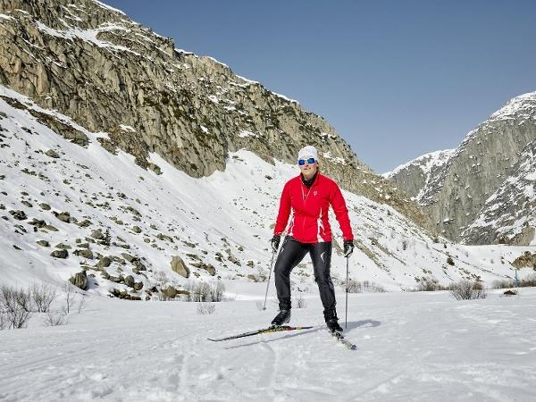 Langlaufloipe Skating in Andermatt