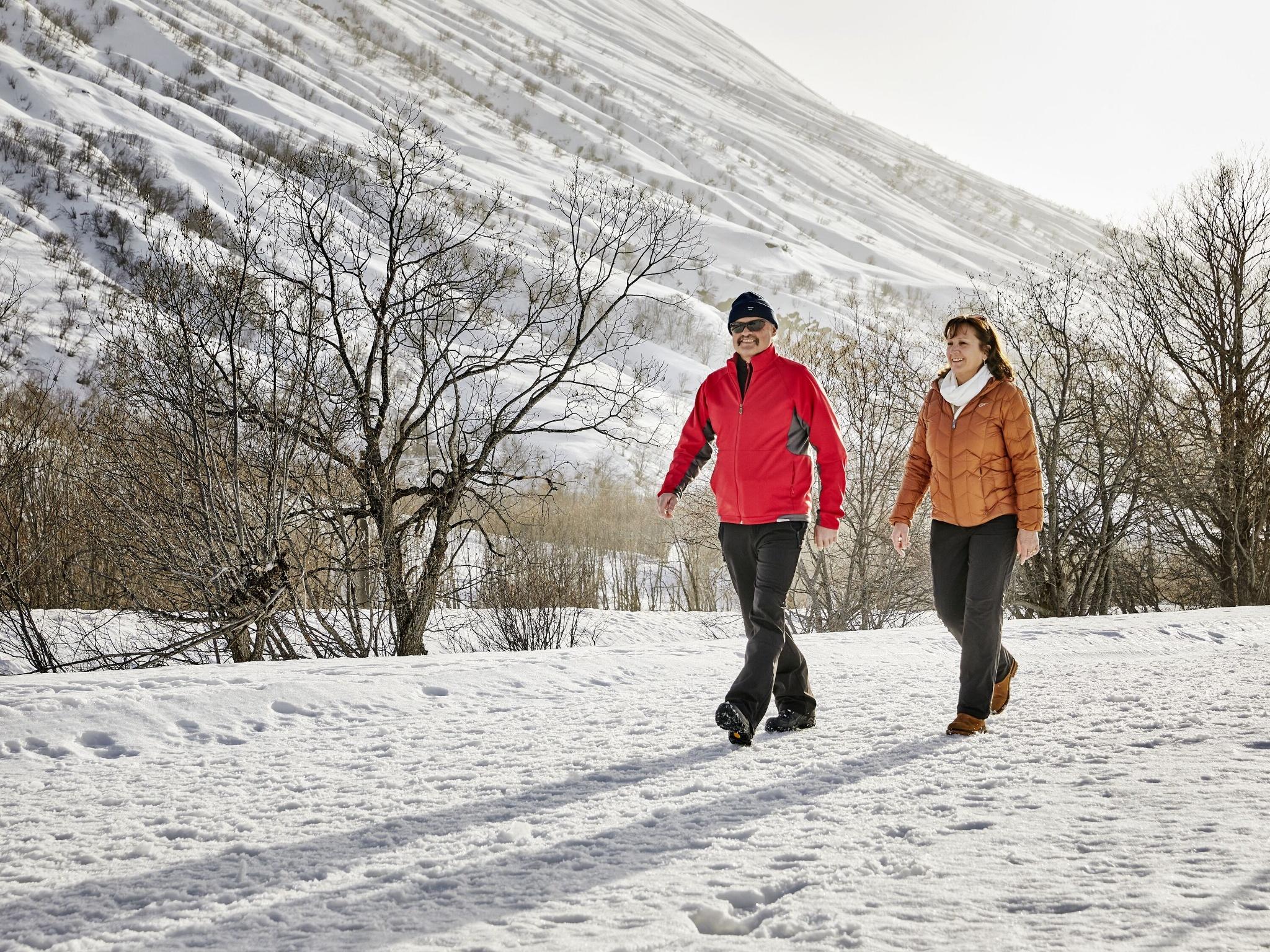 Winterwanderweg Talboden Urserntal