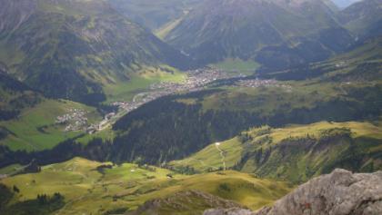 Blick vom Karhorn nach Lech