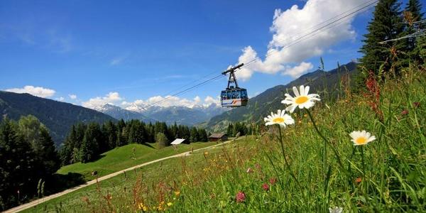 Die Kristbergbahn im Silbertal
