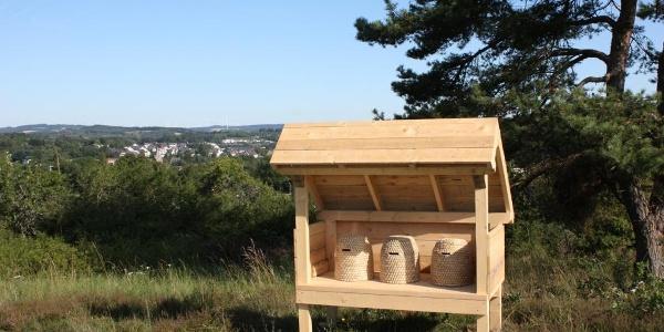 Freiständer Bienenhaus