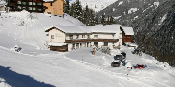 Talabfahrt Winter