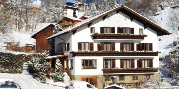 Gästehaus Stüttler, Winter
