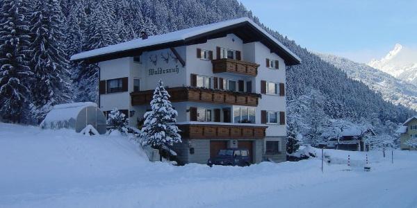 Haus Waldesruh, Winter