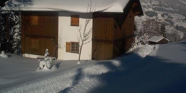 Hausansicht, Winter