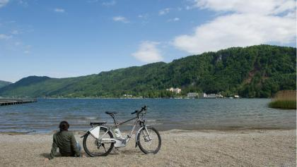 E-Biken am Ossiacher See