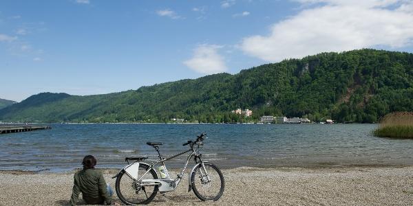 E-Biken am Ossiacher See