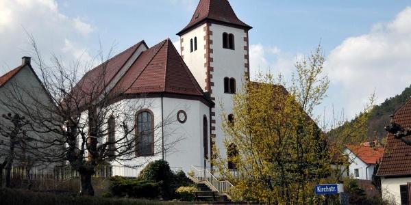 Kirche in Wernersberg