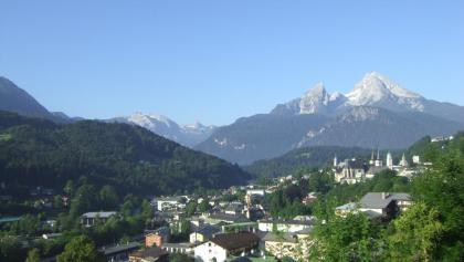 Berchtesgaden mit Watzmann