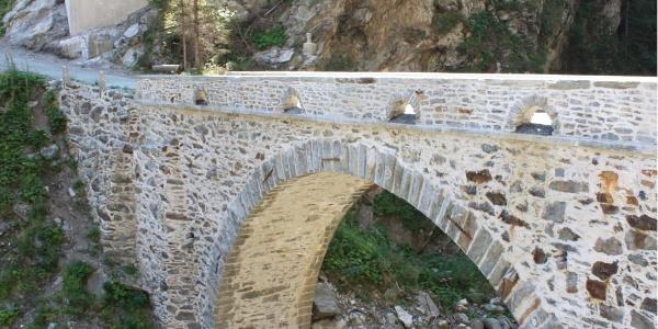 Etappe 9: Valle di Lei-Brücke, Avers