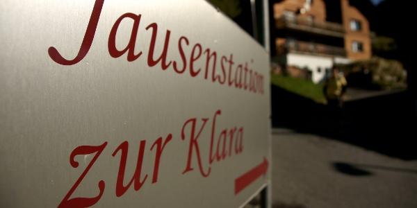 """Jausenstation """"Zur Klara"""""""
