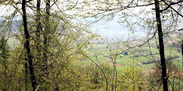Aussicht vom Plateau