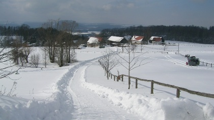 Waitzdorf im Winter