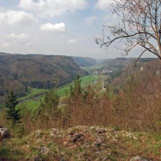 Am Aussichtspunkt Mühlefels