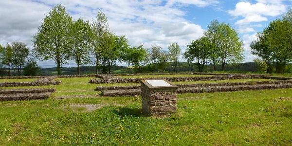 Fundamente des Römischen Gutshofes